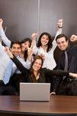 Business online success — Stock Photo