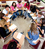 Students during a class — Stock Photo