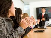 Business success - presentation — Stock Photo