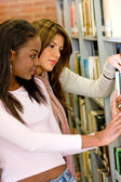 Library students — Stock Photo