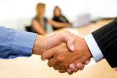 рукопожатие бизнес — Стоковое фото
