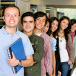 Group of students — Stock Photo #7653868