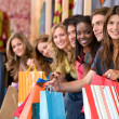 Friends shopping — Stock Photo #7653900