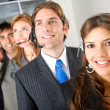 Stock Photo: Business customer services