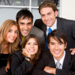 Group of business — Stock Photo #7653965
