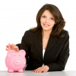 Business savings — Stockfoto