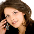 Business woman on the phone — Stock Photo #7653972