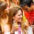 Night club party — Stock Photo
