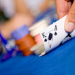 Casino playing cards — Stock Photo