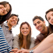 Happy group of friends — Stock Photo #7654142