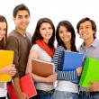 Group of students — Stock Photo #7654149