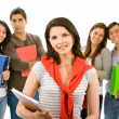 Group of students — Stock Photo #7654155