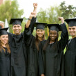 Graduation group — Stock Photo #7654188