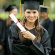 Graduation woman portrait — Stock Photo #7654189