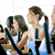 Royalty-Free Stock Photo: Women at the gym