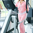 X-trainer woman — Stock Photo #7654205
