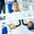 Man exercising — Stock Photo