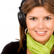 Woman with headphones — Stock Photo #7654227