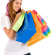 Royalty-Free Stock Photo: Woman with bags