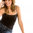 Woman on the phone — Stock Photo #7654279