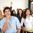 Royalty-Free Stock Photo: Students in a classroom