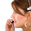 Stock Photo: Customer support operator
