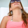 Summer girl relaxing — Stock Photo #7654354