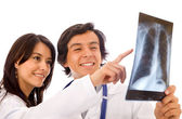 Xray doctors — Stock Photo
