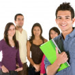 Group of students — Stock Photo #7700358