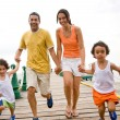 Family having fun — Stock Photo #7700720