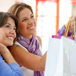 Shopping women — Stock Photo #7700742