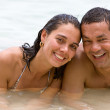Couple on holidays — Stock Photo