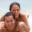 Stock Photo: Couple on vacations