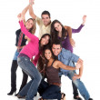 Casual group of — Stock Photo #7700799