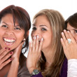 Girls gossiping — Stock Photo #7700839