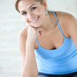 Gym woman - portrait — Stock Photo #7700868