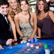 Stock Photo: Casino players