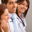 Customer services representative team — Stock Photo #7700899