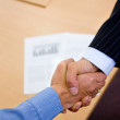 Business handshake — Stock Photo