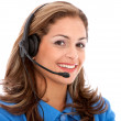 Business customer support operator — Stock Photo #7700990