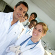 Doctors in a hospital — Stock Photo #7701305