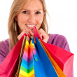 Woman with shopping bags — Stock Photo #7701396