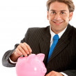 Business savings - Foto Stock