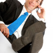 Businessman on the phone - Stock Photo