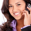 Business woman on the phone — Stock Photo #7701583