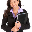 Business woman smiling — Stock Photo #7701585