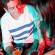 Couple in a bar — Stock Photo #7701637