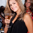 Royalty-Free Stock Photo: Party woman