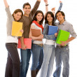 Happy students — Stock Photo #7701663