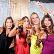 Stock Photo: Girls night out